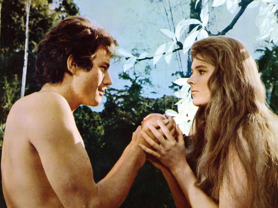 "<h1 class=""title"">THE BIBLE, from left: Michael Parks, Ulla Bergryd, 1966, TM & Copyright © 20th Century Fox Film Corp</h1><cite class=""credit"">©20thCentFox/Courtesy Everett Collection</cite>"