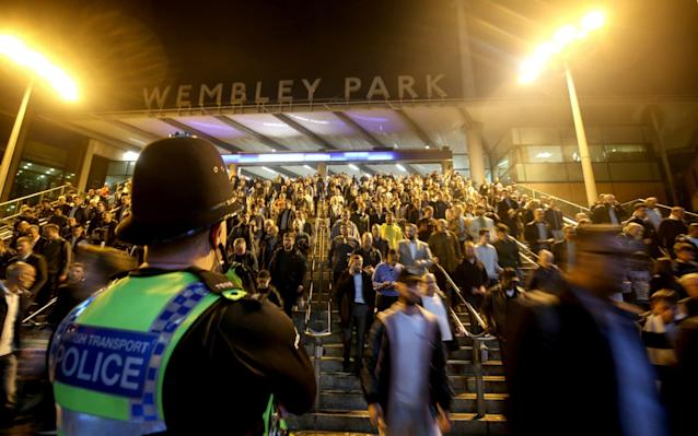 Scotland Yard will stage its biggest match-day security operation in recent years - Offside