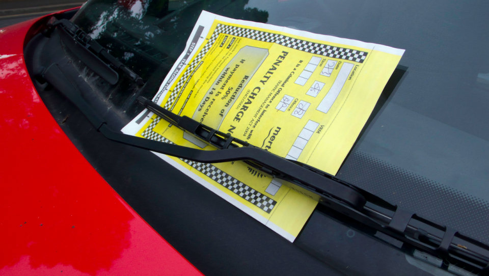 <em>Motorists are fined up to £100 for parking offences on private land (Rex)</em>