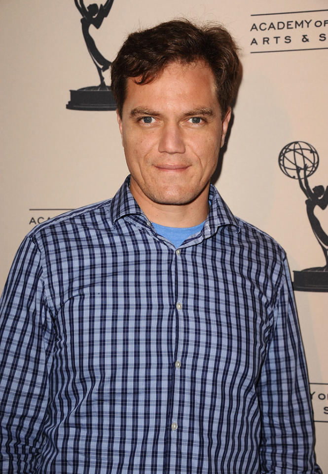 "Michael Shannon arrives at The Academy of Television Arts & Sciences Presents An Evening With ""<a href=""http://tv.yahoo.com/boardwalk-empire/show/41428"">Boardwalk Empire</a>"" event at Leonard H. Goldenson Theatre on April 26, 2012 in North Hollywood, California."