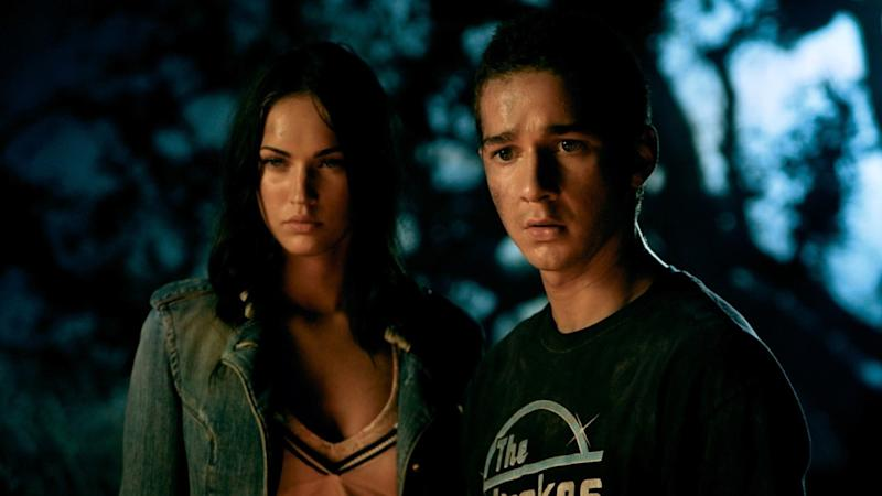 Megan Fox starred alongside Shia LaBeouf in Michael Bay's 'Transformers' franchise. (Credit: Paramount)