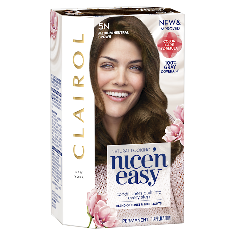 A look at the new Clairol Nice 'n Easy at-home hair color. (Photo: Clairol)