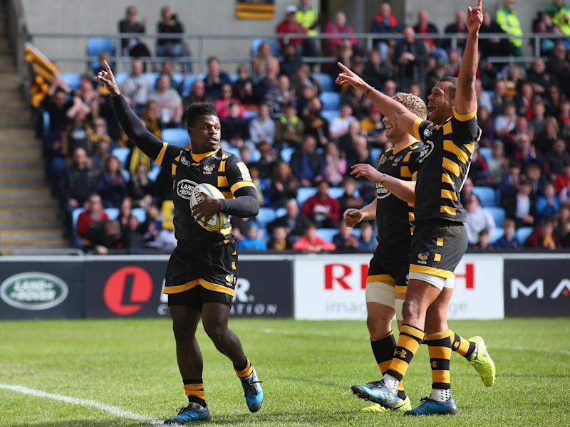Wade bagged two tries in the victory: Getty
