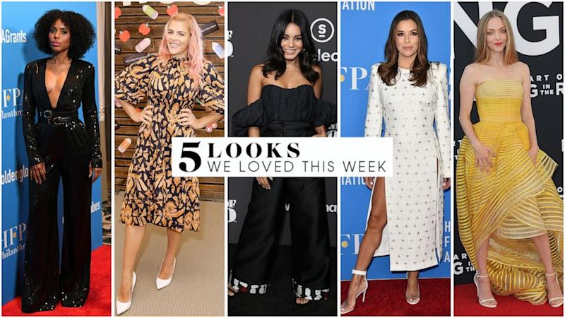 5 looks we love this week: Kerry Washington, Amanda Seyfried, Eva Longoria and more
