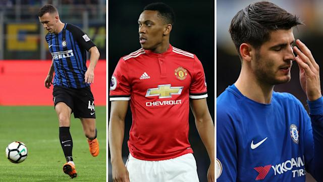 In, out and out? Perisic is coming to the Premier League as Martial and Morata seem to be leaving it