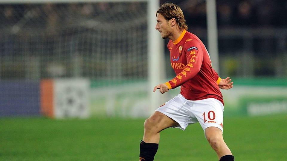 Francesco Totti | Giuseppe Bellini/Getty Images