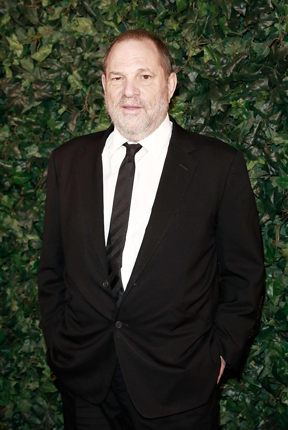 Harvey Weinstein attends a pre-BAFTA party hosted by Charles Finch and Chanel at Annabel's on Feb. 11, 2017, in London. (Photo: Getty Images)