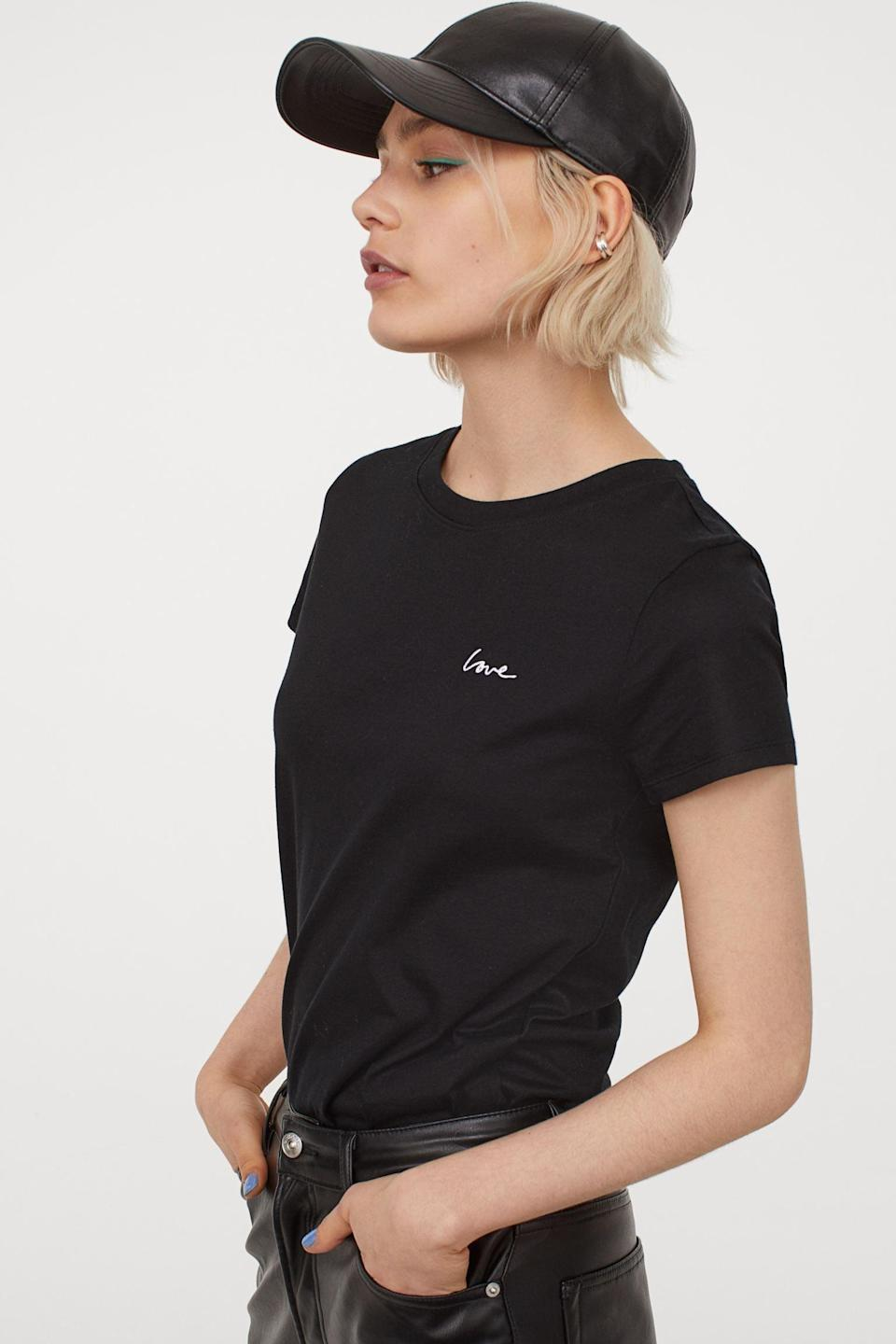 <p>This <span>Jersey T-shirt</span> ($6) is extremely versatile.</p>