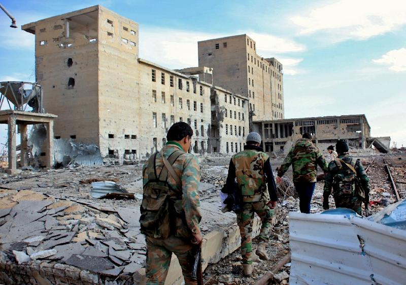 Syrian forces have been on the offensive against jihadist groups in Aleppo and Deir Ezzor
