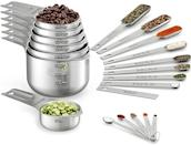 <p>The <span>Wildone Measuring Cups &amp; Spoons Set of 21</span> ($23) is perfect for the new cook who can't just wing it when it comes to measurements.</p>