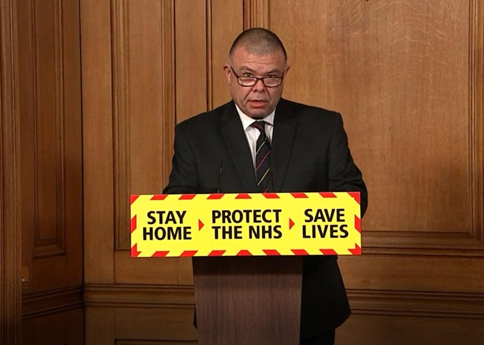 Deputy chief medical officer for England Jonathan Van-Tam during a media briefing in Downing Street (Photo: PA Wire)