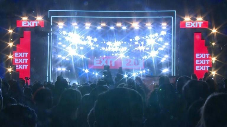 Serbia hosts Europe's first large festival since pandemic