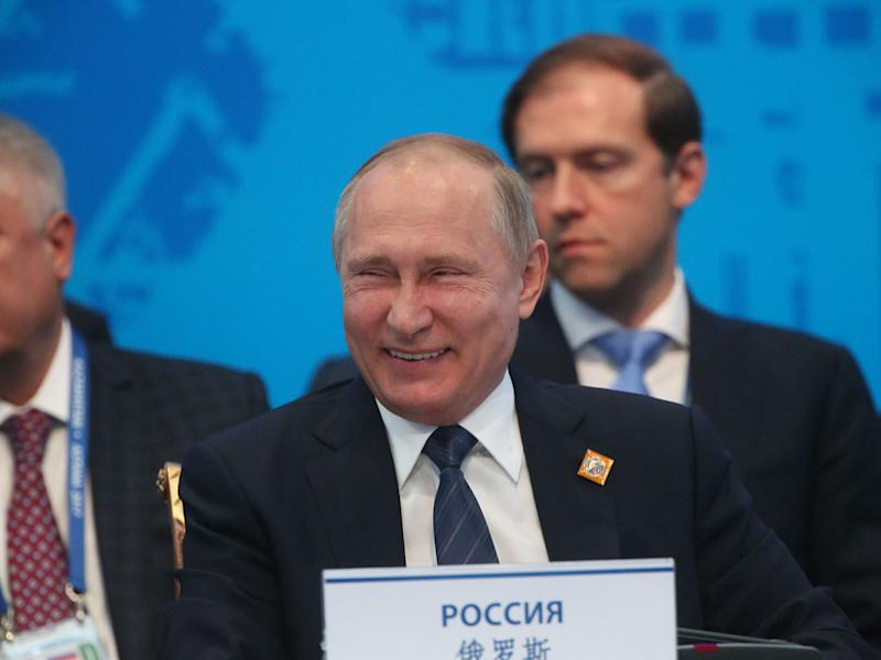 Mr Putin's personal fortune has been the subject of intense debate and speculation: Getty