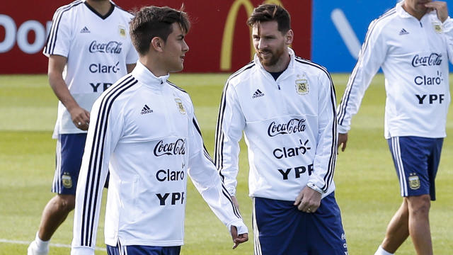 Left on the bench against Iceland, Paulo Dybala is ready to be used alongside Lionel Messi for Argentina at the World Cup.