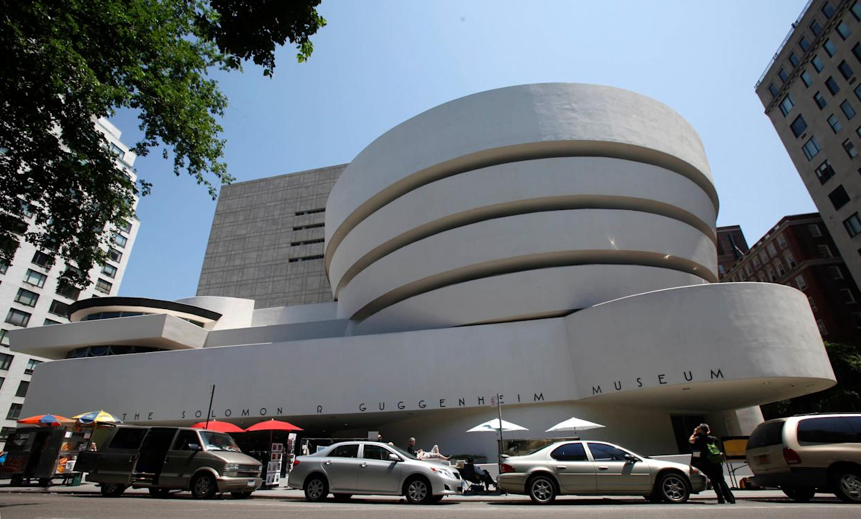 The Solomon R. Guggenheim Museum in New York has said that it will no longer accept financial donations from the Sackler family, owners of Purdue Pharma, which makes the opioid OxyContin. (Photo: ASSOCIATED PRESS)