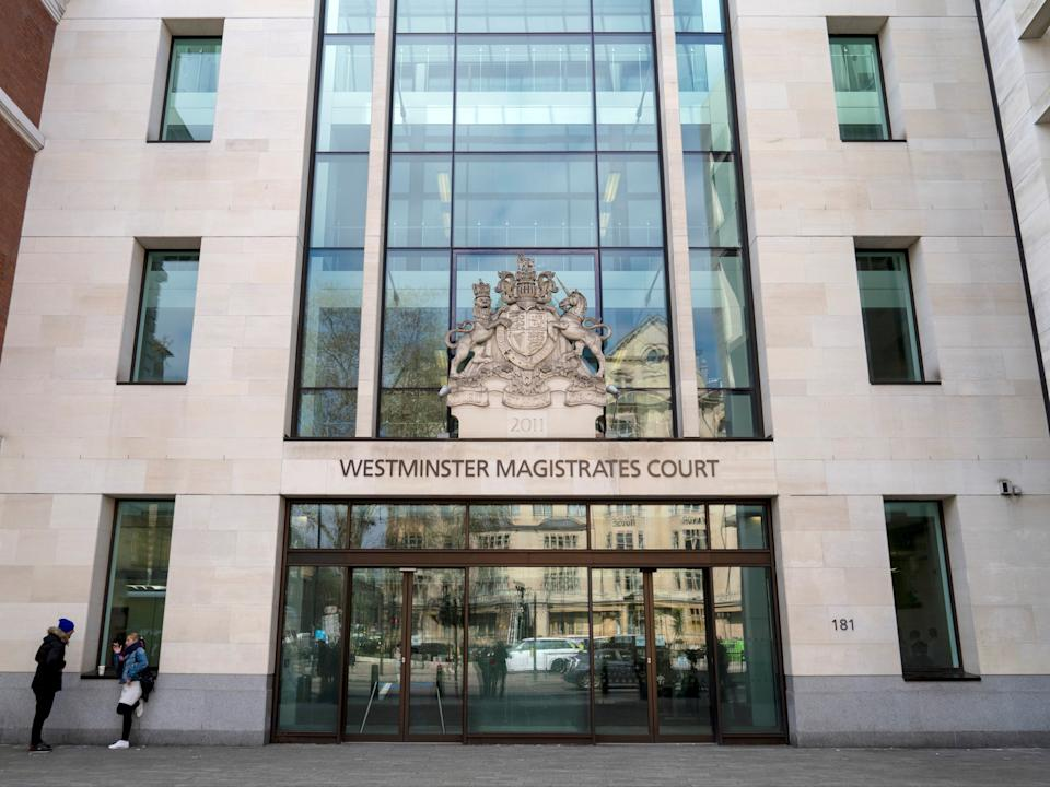 General view of Westminster Magistrates' Court, in LondonAFP via Getty