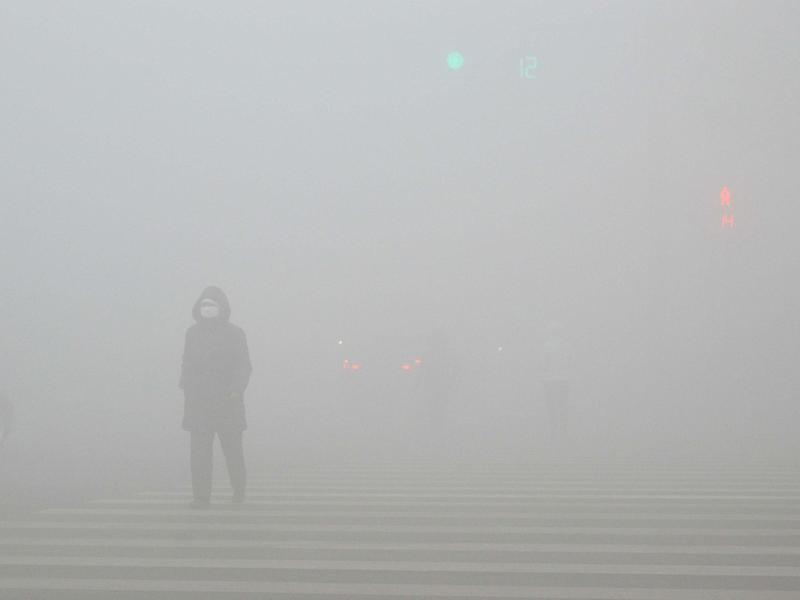 A dense cloud of smog covered large parts of China for several days in December: Reuters