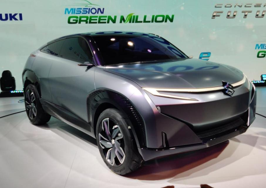 As the name says, this concept will spawn more production-spec SUVs with this new design language of Maruti. The car is certainly a big departure from what we normally expect from them. The look is that of an SUV coupe and the front is quite striking too.