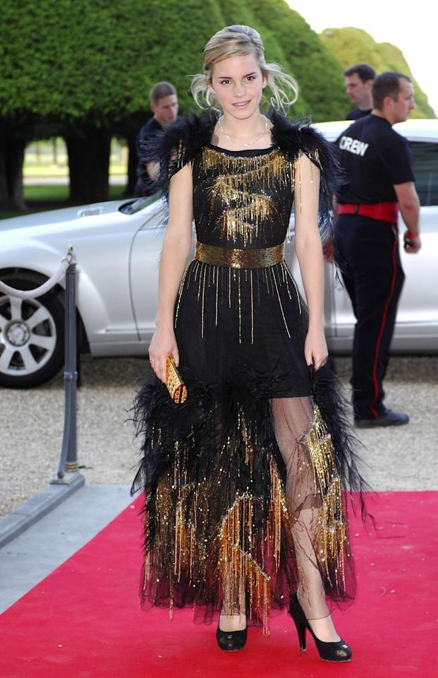 <p>She's glitzy and festive at theRaisa Gorbachev Foundation Partyin June 2007. (Photo: Getty Images) </p>