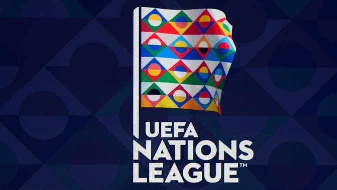 Logo UEFA Nations League. (AFP/Philippe Desmazes)