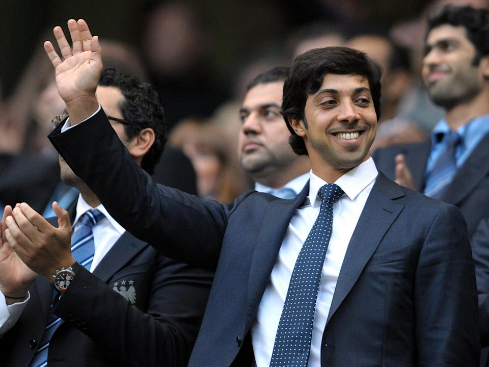 Manchester City owner Sheikh Mansour (AFP via Getty Images)