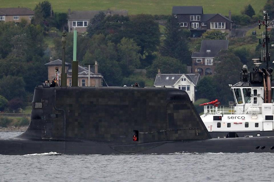 One of the Royal Navy's seven Astute-class nuclear-powered attack submarines (Andrew Milligan/PA) (PA Archive)
