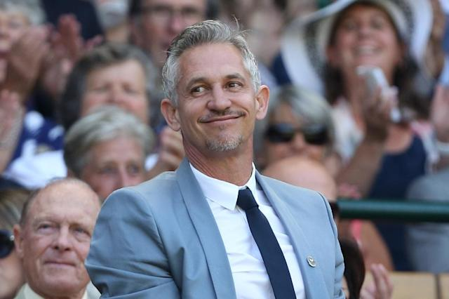 """Gary Lineker, renowned as English football's Mr Nice during his playing days, said he was """"ashamed of my generation"""" after Britain voted to leave the European Union on June 23 (AFP Photo/Justin Tallis)"""