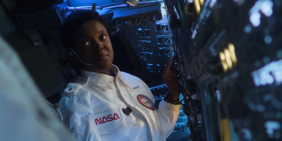 """Krys Marshall as astronaut Danielle Poole in the second season of """"For All Mankind."""""""