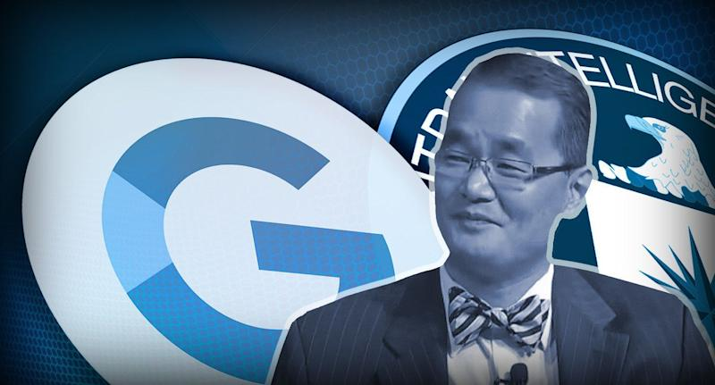Yong Suk Lee is leaving the CIA to work for Google. (Yahoo News photo Illustration; photos: AP, Getty)
