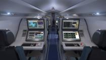 The interior of Raytheon's future ISTAR special mission aircraft