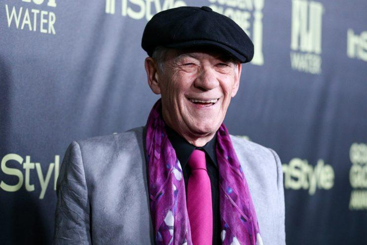 Ian McKellen at a Hollywood event in 2015.