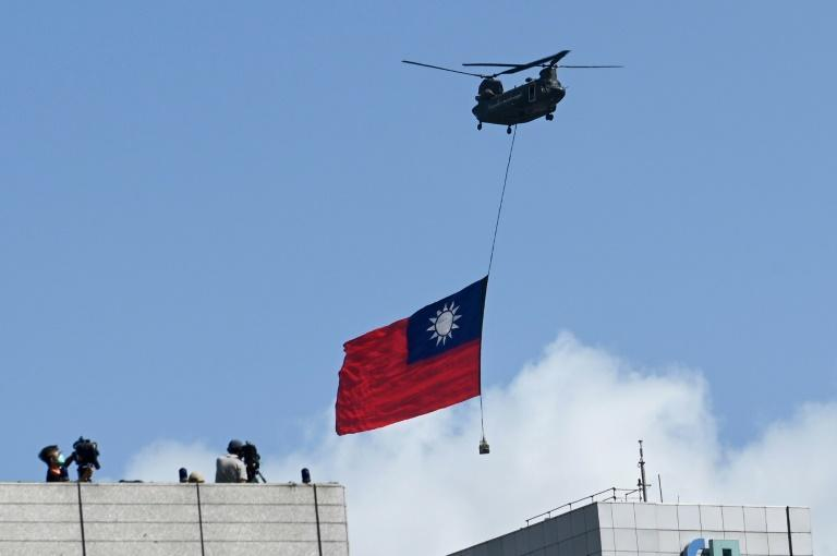 Self-governed Taiwan lives under the constant threat of invasion by China, which views the island as its territory (AFP/Sam Yeh)