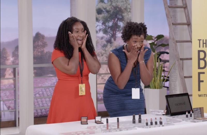 The Big Find winners, founders of Mented Cosmetics   Courtesy QVC/HSN