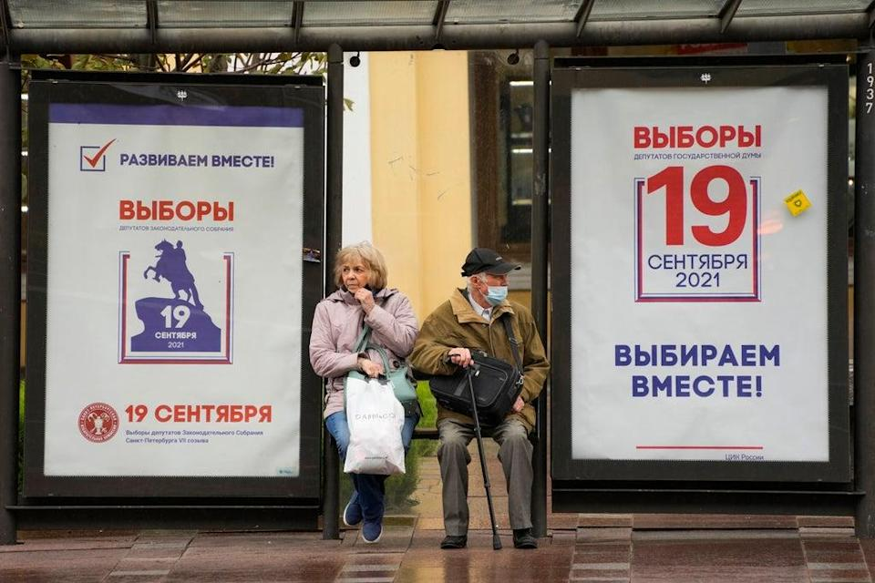 Russia Election (Copyright 2021 The Associated Press. All rights reserved)