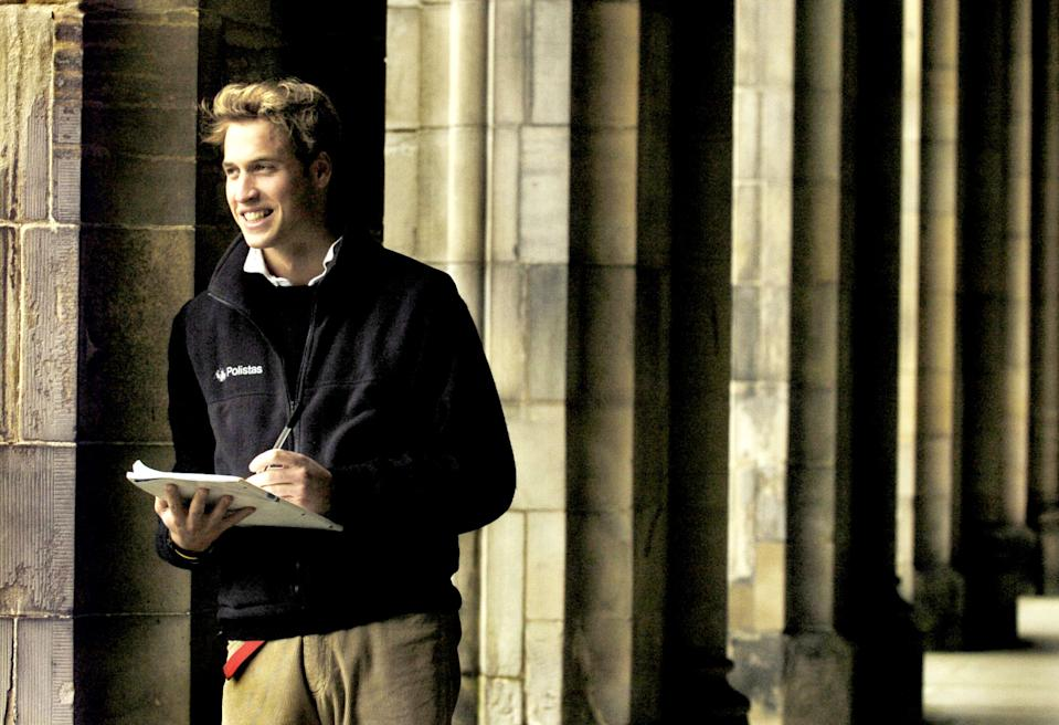 <p>Going to Scotland was something of a break from royal tradition, as his father, Prince Charles, had gone to the University of Cambridge. (PA Photo: David Cheskin)</p>