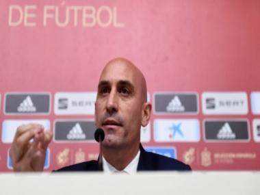 Luis Rubiales re-elected as president of Spanish Football Federation until 2024