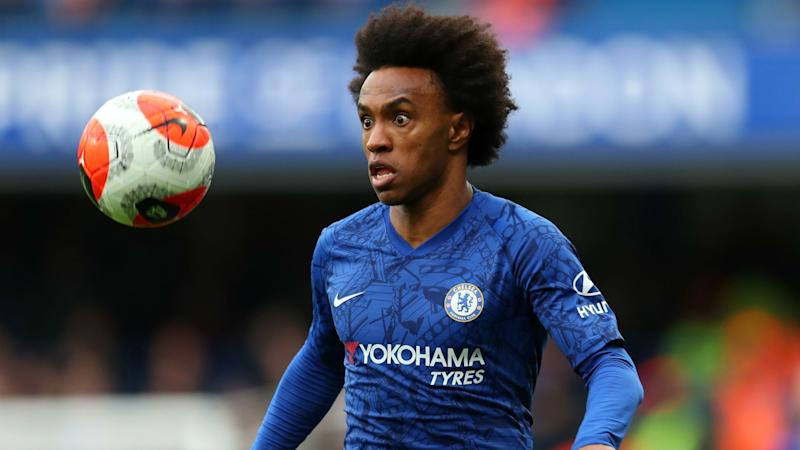 It's not over - Lampard still hopes to keep Willian at Chelsea