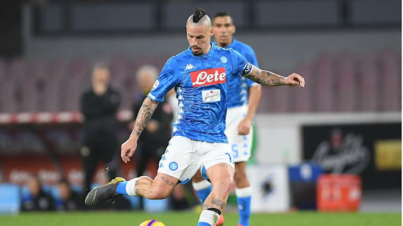 Hamsik left out of Napoli squad as CSL switch moves closer
