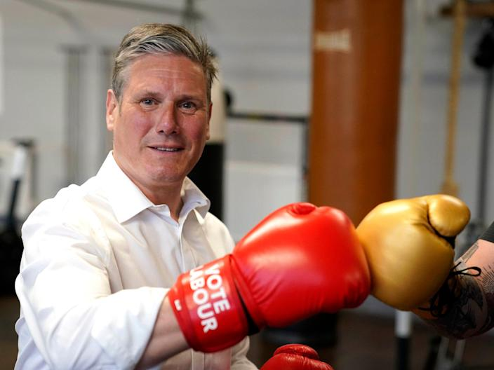 <p>Keir Starmer faces a battle over the future of the Labour party</p> (Getty Images)