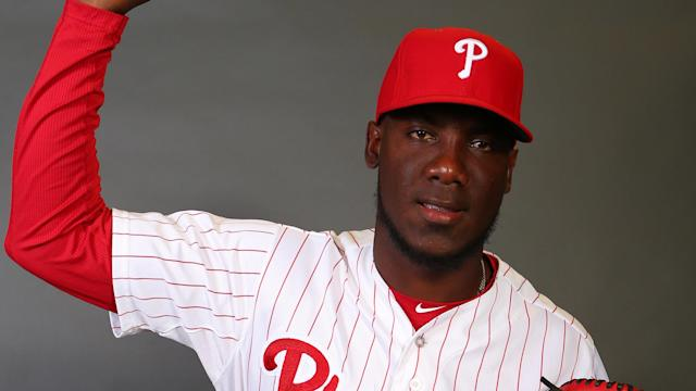 <p>According to Tom Housenick of <em>The Morning Call</em>, Enyel De Los Santos will make his major-league debut Tuesday. </p>