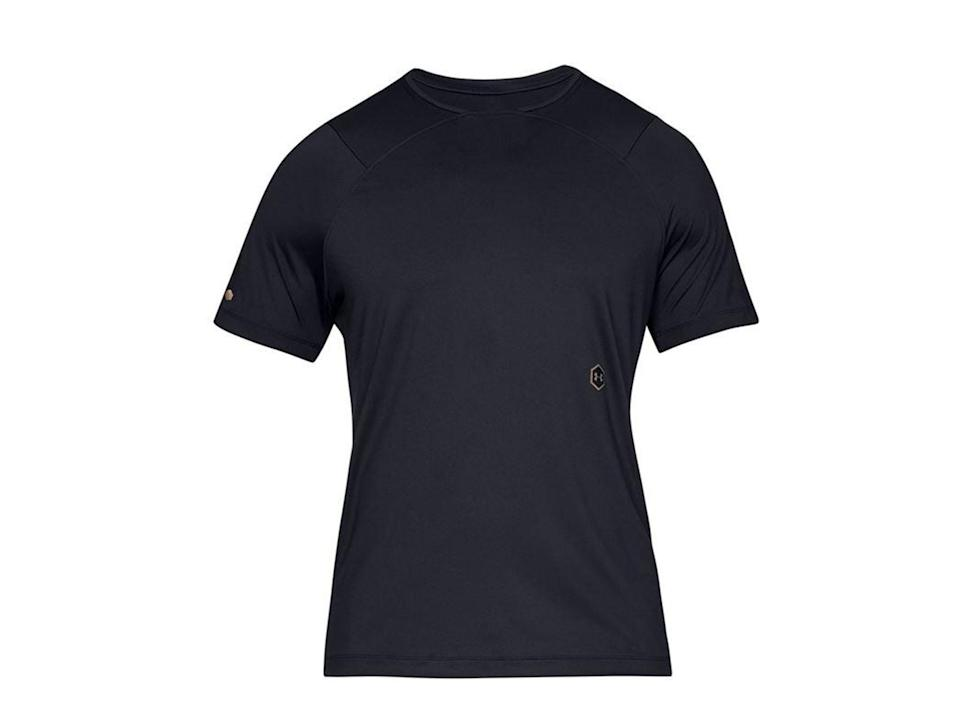 For men, our reviewers found this t-shirt fit well and is fast-drying Under Armour