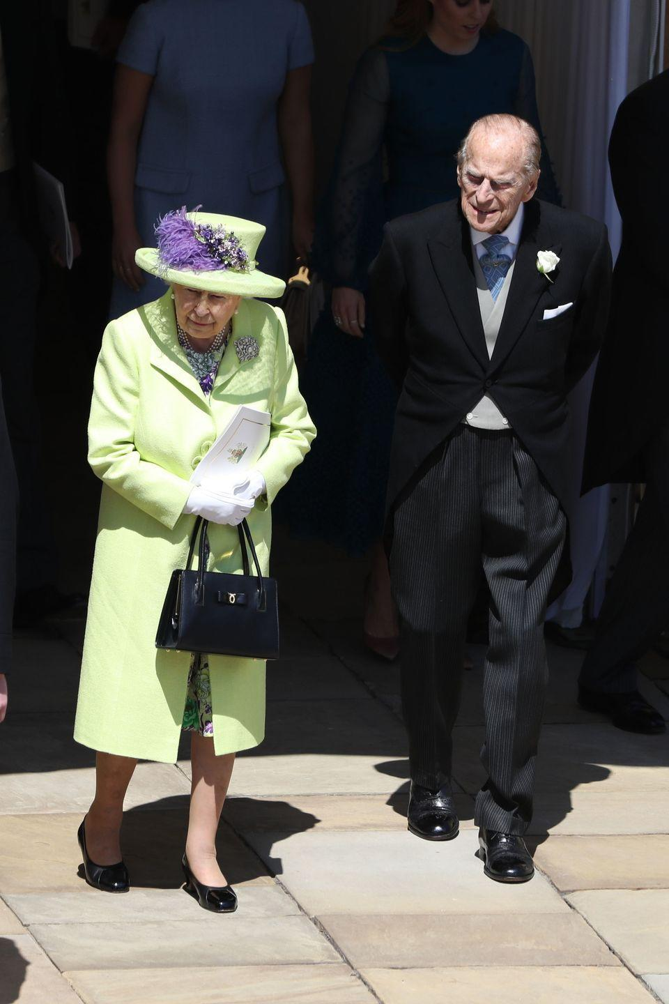 <p>Despite concerns about his health, the Duke of Edinburgh attended the wedding of Prince Harry and Meghan Markle just six weeks after undergoing a hip operation. He also watched his granddaughter Princess Eugenie marry Jack Brooksbank that October. </p>