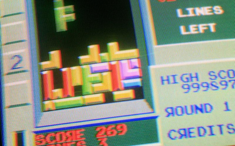 The game block-fitting game Tetris was invented in 1984