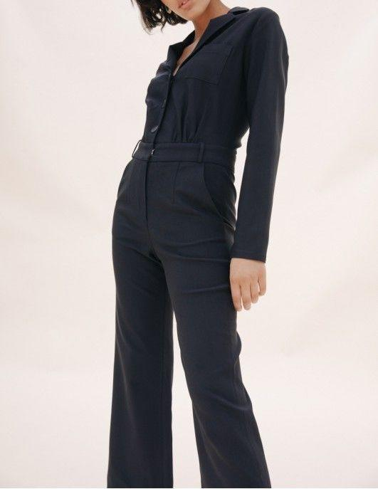 A jumpsuit is a French-girl must.