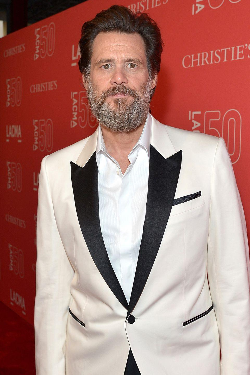 """<p>The comedic actor has spoken very seriously about the topic of substance abuse, telling <a href=""""http://www.cbsnews.com/news/carrey-life-is-too-beautiful/"""" rel=""""nofollow noopener"""" target=""""_blank"""" data-ylk=""""slk:CBS News"""" class=""""link rapid-noclick-resp"""">CBS News</a>: 'I rarely drink coffee. I'm very serious about no alcohol, no drugs. Life is too beautiful.' </p>"""