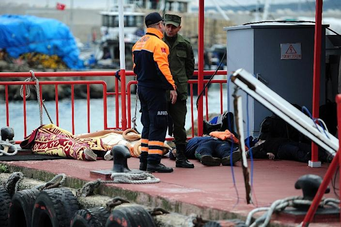 More than 40,000 people have died trying to migrate since 2000, the International Organisation for Migration said in 2014 (AFP Photo/Ozan Kose)