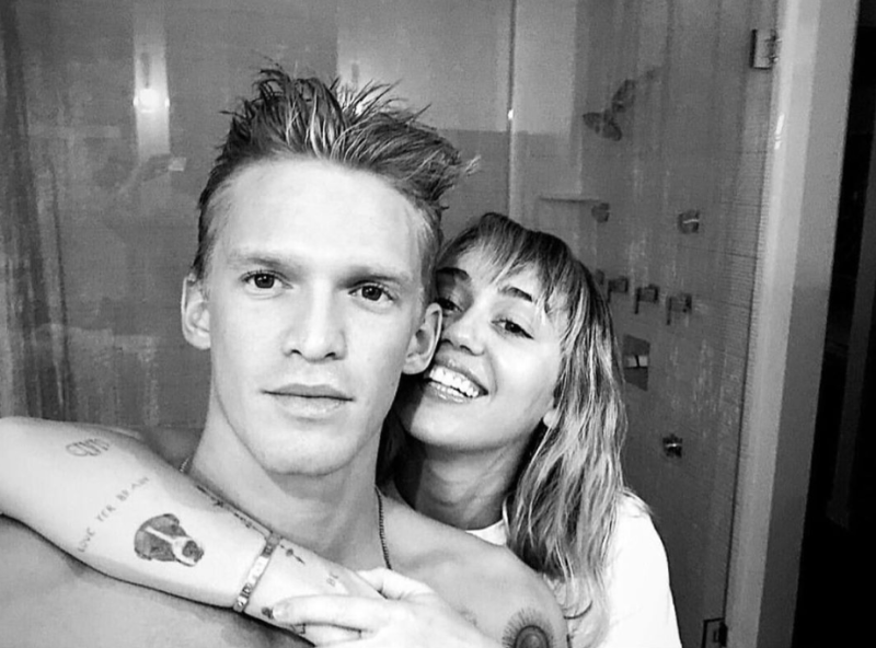 Cody Simpson and Miley Cyrus are officially a couple. (Photo: Miley Cyrus/ Instagram Stories)