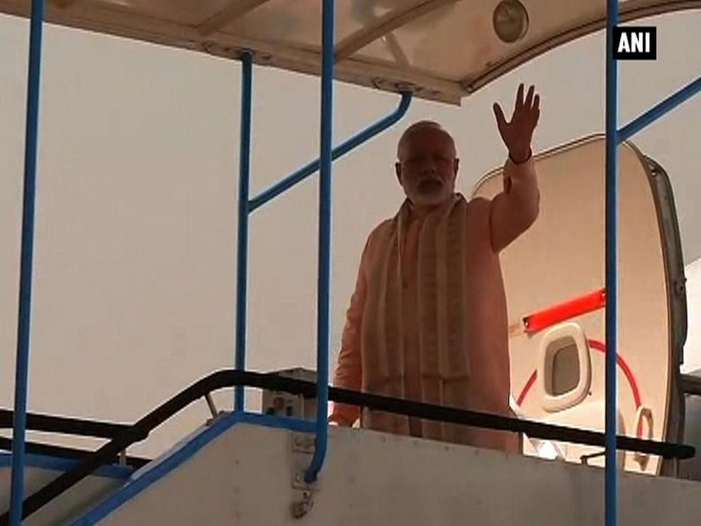 Prime Minister Narendra Modi on Saturday left from Delhi on the first leg of his five-nation tour, which will cover Afghanistan, Qatar, Switzerland, the US and Mexico. The Prime Minister will visit countries spanning across three continents with a host of agendas, with improvement in bilateral relations and economic ties.
