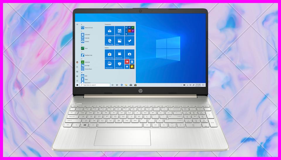 Sleek design, crystal clear visuals, and on sale...but not for long. (Photo: HP)