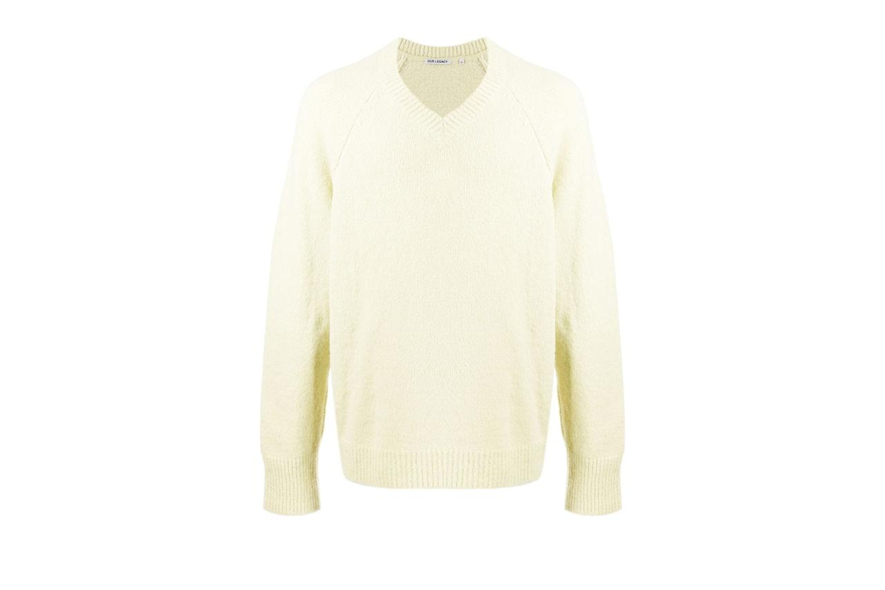 "$386, Farfetch. <a href=""https://www.farfetch.com/shopping/men/our-legacy-v-neck-raglan-sleeves-jumper-item-14539633.aspx?storeid=9124"">Get it now!</a>"
